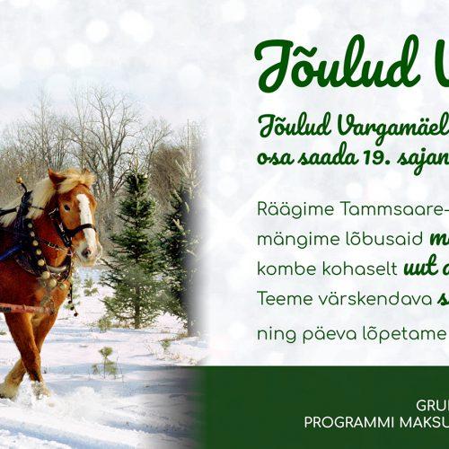 Jõulud Vargamäel!