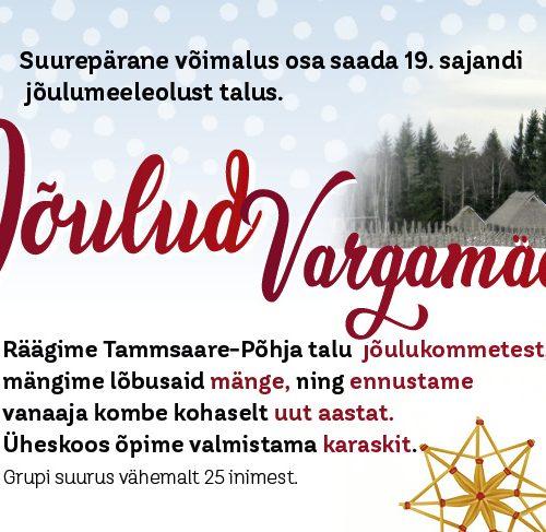 Jõulud Vargamäel